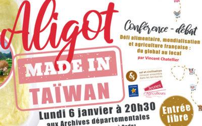 Aligot Made In Taiwan, retour sur la conférence organisée à Rodez par les Jeunes Agriculteurs